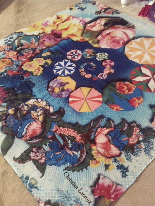 Christian Lacroix - Unique foulard /  scarf **No reserve price**