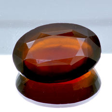Hessonite garnet 'Cinnamon stone variety' - 17.42 ct – No reserve price