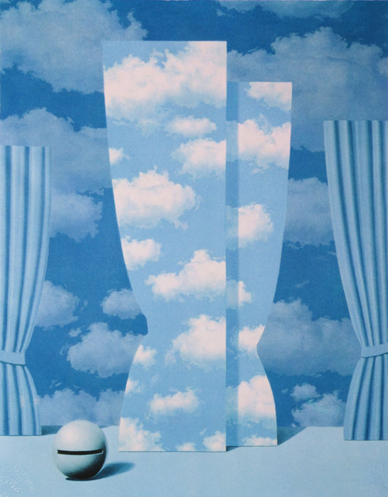 René MAGRITTE - La Peine Perdue (The Wasted Effort)