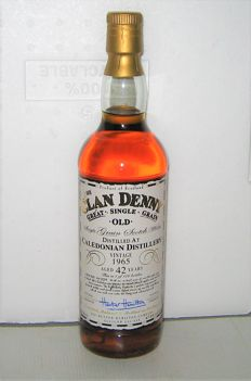 """Caledonian 1965 42 years old - Single Grain """"The Clan Denny"""" - 70cl - 47,8% - Hunter Hamilton - only 126 bottles"""