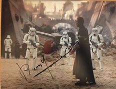 Donnie Yen signed 14x11 Rogue One photo