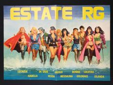 "Promotional poster Sexy Heroines ""Estate RG"" (1972)"