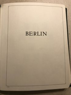 Berlin collection in Leuchtturm album on SF preprint sheets
