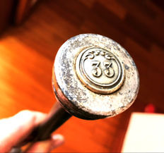 Antique Walking Stick, Masonic no. 33