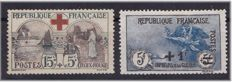 France 1918/22 - Yvert 156 and 169