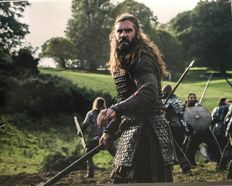 Clive Standen signed Rolo Vikings large photo