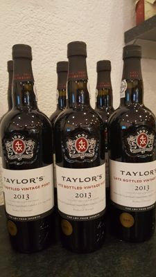 2013 Late Bottled Vintage Port - Taylor's - 6 bottles