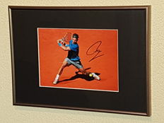Rafael Nadal - Tennis Legend - World number 1 - hand signed framed photo + COA.