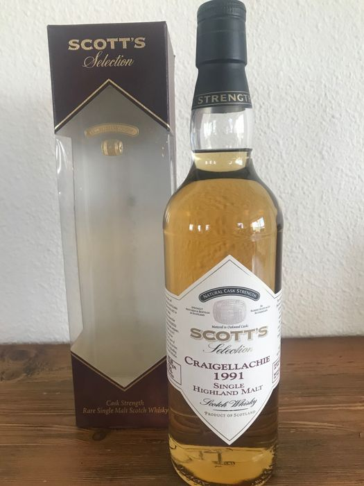 Craigellachie 1991 (20 years old) - Scott's Selection