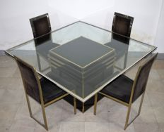 Unknown designer - table and 4 chairs