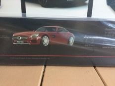 Premium Classixxs - Scale 1/12 - Mercedes-Benz AMG GT C190 - Red - Limited edition of 500 pieces