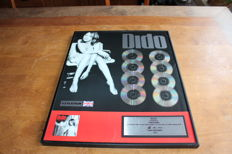 Dido - UK BPI Certified Platinum CD Award Life For Rent
