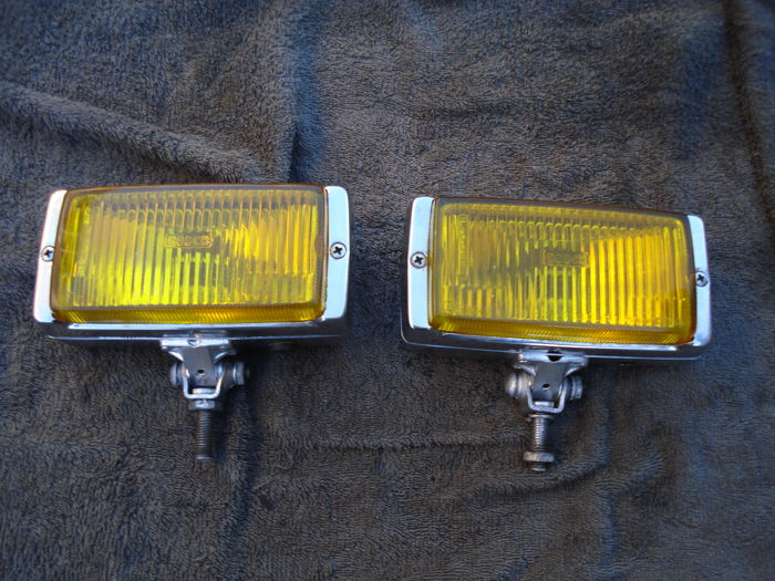 Two FOG LIGHTS by the brand BOSCH with a width of 170 mm