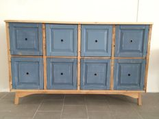 Solid wood and treated fir old cabinet