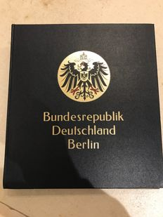 Berlin collection in DAVO album with SF preprint sheets