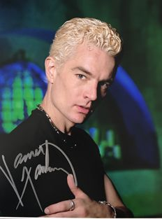 James Marsters signed Spike Buffy signed photo