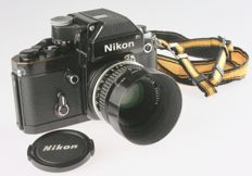 Nikon F-2 with Nikon DP-1 and Nikkor 1.8/50mm