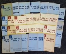 Dr. J. H. Teunisz and others - 31 issues of the Volksche Wacht - 1941/1944