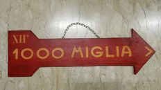 Indicator from the 12th Mille Miglia