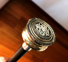 Walking stick with Navy emblem, Italy, 1940s