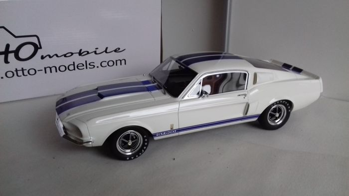 Otto Mobile - Scale 1/12 - Shelby GT 500 1967 - White