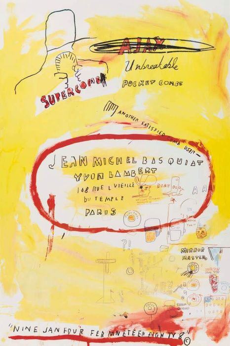 Jean-Michel Basquiat - Supercomb