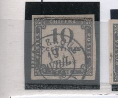 France - Collection of Postage Due stamps - between Yvert no 1 and 112