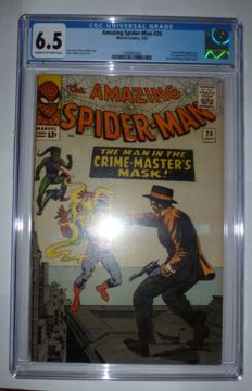 AMAZING SPIDER-MAN # 26 / Green Goblin appearance; 1st appearance of Patch & the Crime Master