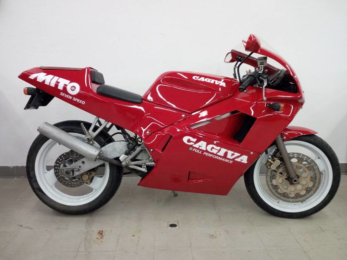 cagiva mito 125cc seven speed 1991 catawiki. Black Bedroom Furniture Sets. Home Design Ideas