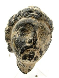 Gandhara Stone Statue's Head of Buddha  -57mm