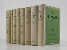 W.C.O. Hill - Primates. Comparative anatomy and taxonomy - 8 volumes - 1953/1974