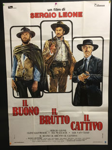 Renato Casaro - The Good, the Bad and the Ugly (Titanus) - 1972