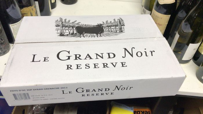 2015 Le Grand Noir Icon Reserve, Languedoc-Roussillon, France - 6 bottles 0,75l in OCB