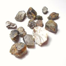 Natural rough Star Sapphire crystal Lot - 100.00 ct.