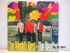 The Beatles '' lot of 2 best hits albums from germany''  the beatles & the worlds best