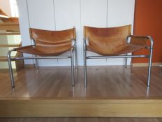 Walter Antonis for 't Spectrum – Two Lounge Chairs, Model 250