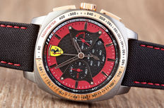 Ferrari Scuderia Aerodinamico chronograph - men's watch - new condition, 2017