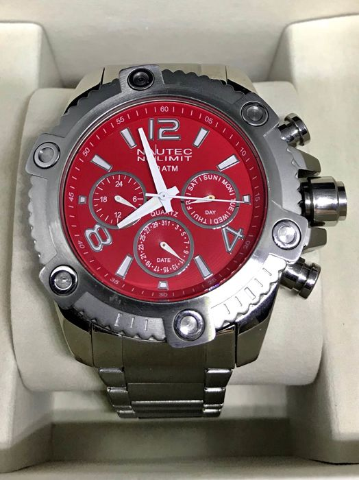 Nautec FireBall Red Dial 2017 Mens