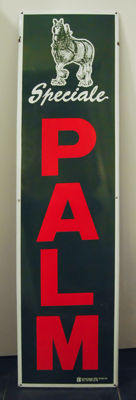 "Enamel advertising sign for ""Speciale Palm"" 1992"