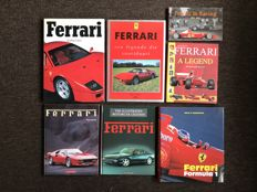 Ferrari - 7 Books - 1989 until 2001
