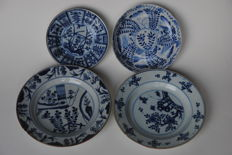 2 bowls and 2 plates - China - 18/19th century