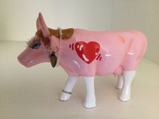 Cow Parade Cowparade - First Date - medium - Resin - 10th anniversary edition !