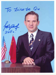 Valeri Kubasov - cosmonaut of first international mission
