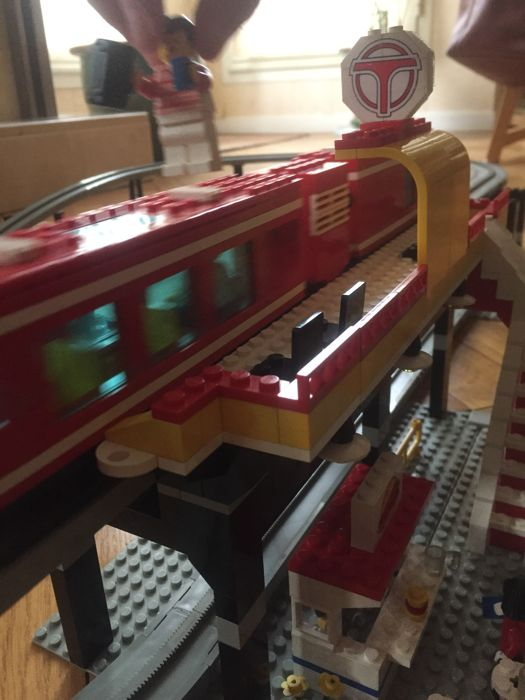Lego Airport Shuttle Monorail 6399 Rare From 1990 Catawiki