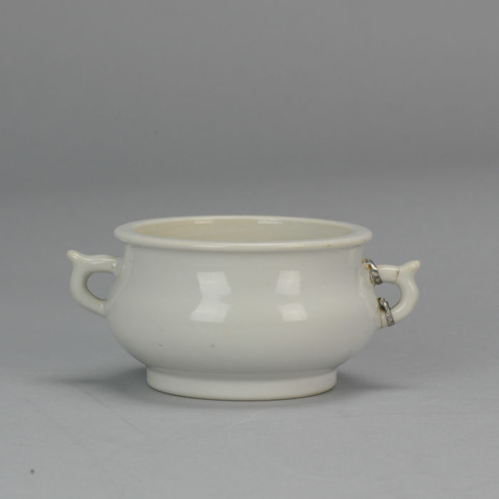 Dehua Blanc de Chine Monochrome Incense burners-  China/Chinese - 17th century Ming or early Qing Dynasty