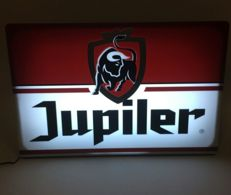 Jupiler light box, In beautiful condition