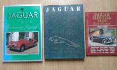 Lot with 3 Jaguar books