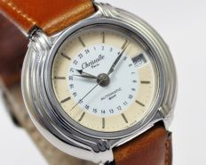 Christofle Paris Studio Ricci Design Vintage Wrist Watch - circa 1980s