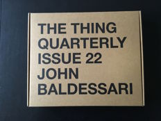John Baldessari - The Thing Quarterly issue # 22 - 2014