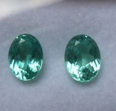 Apatite Matching Pair – 1.93ct total